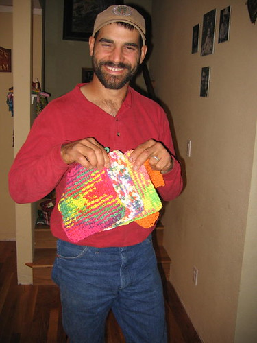 Ross with his FAVORITE birthday presents!