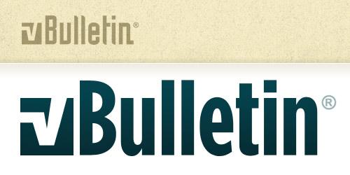 vBulletin Redesign: Logo