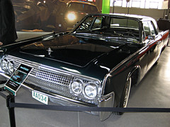 1965 Lincoln Continental (pr0digie) Tags: classic car vintage movie studio tour continental wb vip lincoln prop warnerbros thematrix backlot