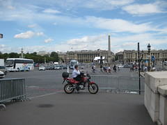 Place de la Concorde (gallopmonkey) Tags: paris france placedelaconcorde motorcyle