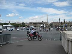 Place de la Concorde (gallopmonkey) Tags: paris france placedelaconcorde motorcyle