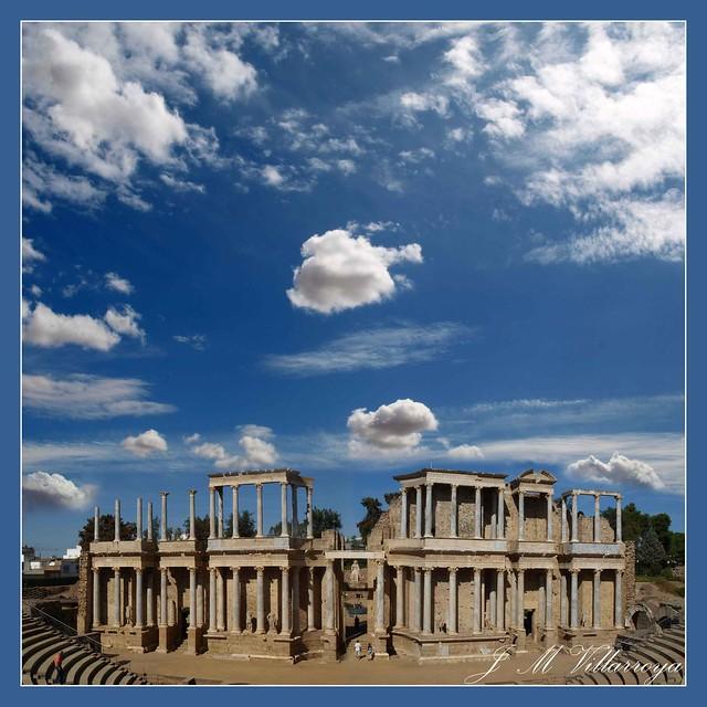 Roman Theatre Mérida - Spain - PA144235TTs