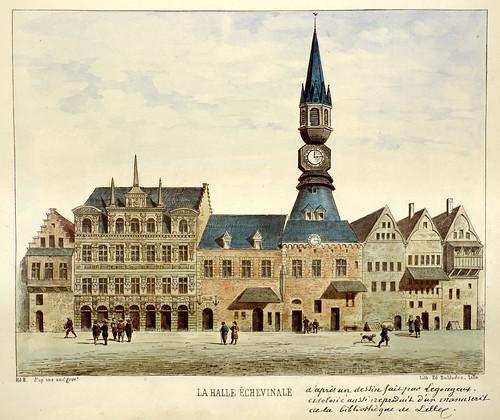 001-Mercado Échevinale-Lille ancien monumental Edouard Boldoduc  1893