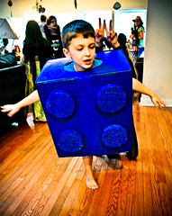 Kegan's Lego Costume Revealed!