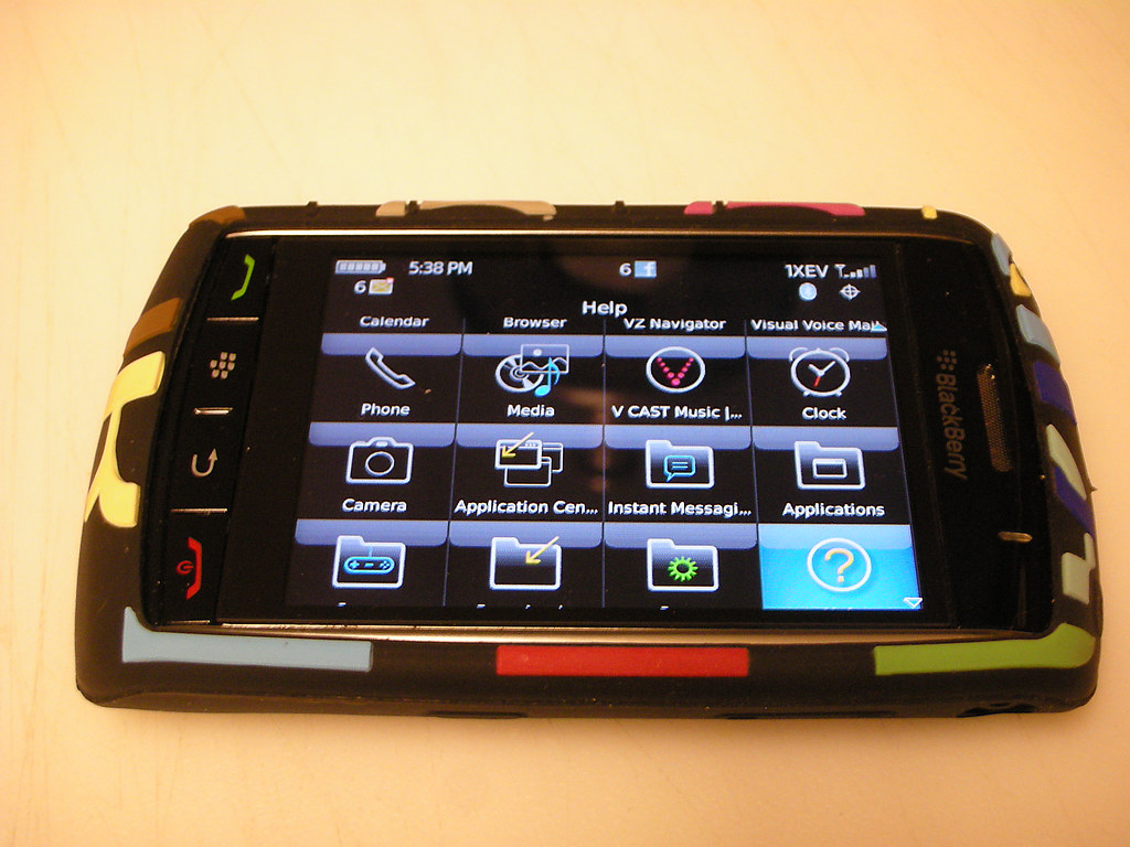 My Blackberry Storm with Dooney & Bourke Case