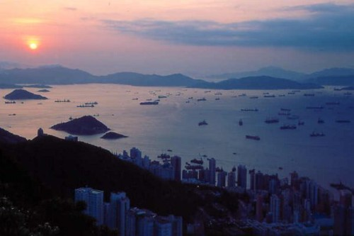 Victoria Harbour Sunset