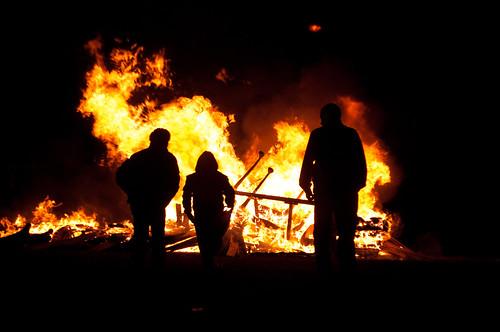 Darndale Bonfire