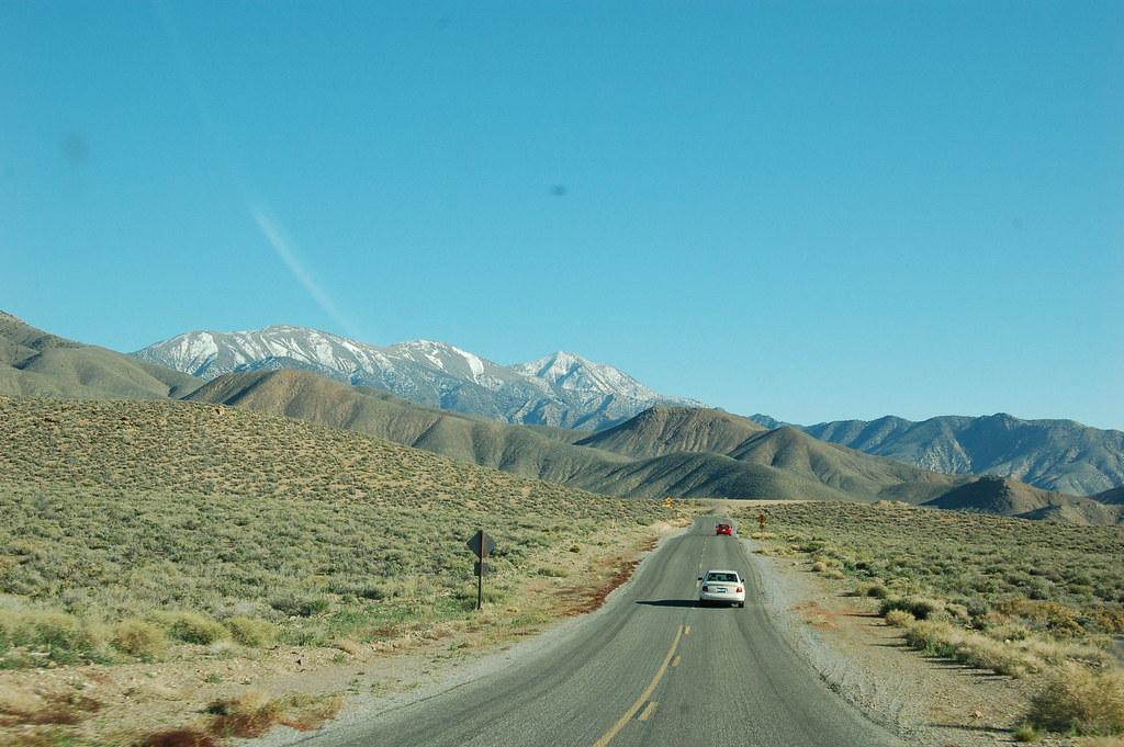 Ute av nasjonalparken og på vei tilbake til siviliasjonen (les: Hollywood)