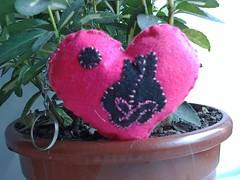 Chaveiro (Costurinhas Patch e Mdf -Elisama Aguiar) Tags: pano feltro boneca patchwork saco abajur almofada chaveiro