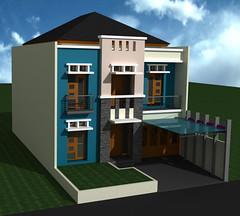 Desain Rumah Tinggal Minimalis di Komplek Setneg Cidodol Kebayoran Lama by Indograha Arsitama Desain & Build