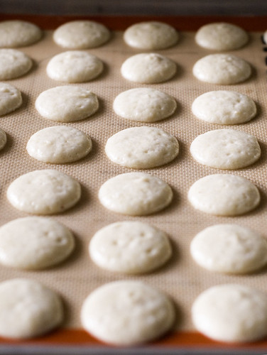 Daring Bakers October macarons - prebake