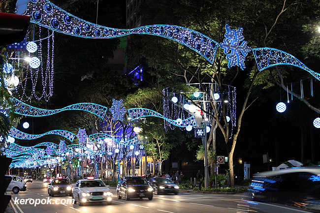 Orchard Road Christmas Lights 2009