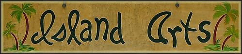 Island Arts Sign