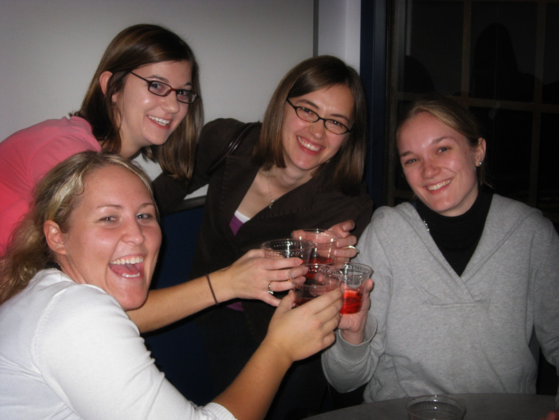 Kasie, Heather, Sara & Kate
