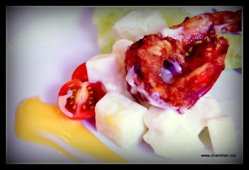 prawns salad