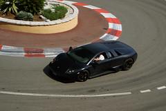 Lamborghini Murcilago LP640 in matte black (Martijn Kapper) Tags: black car sony montecarlo monaco exotic alpha lamborghini matte a100 murcilago lp640 carsctedazurfrancesupercarsportscarcarspottingautospottenautogespot2009black