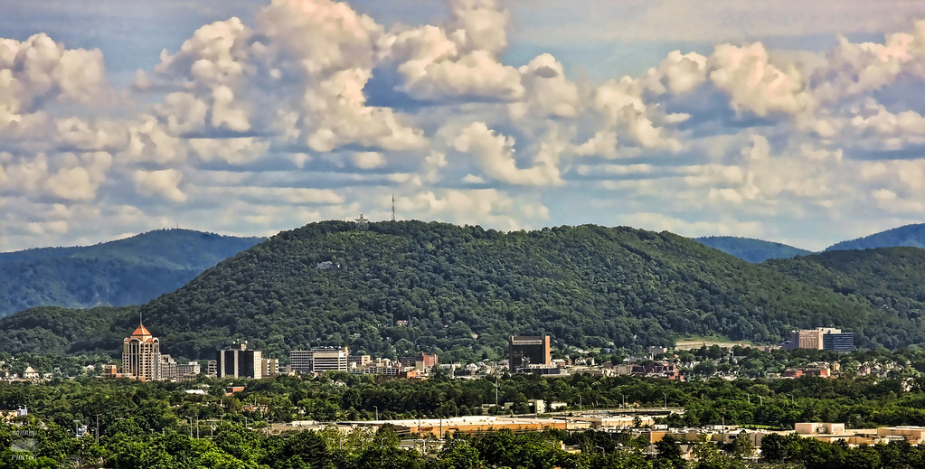 Roanoke,Va Skyline
