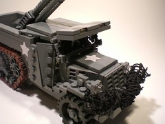 M3 Halftrack 'Fighting Iron' T19 105 mm HMC (PhiMa') Tags: usa lego wwii ww2 worldwar2 allies howitzer m3halftrack