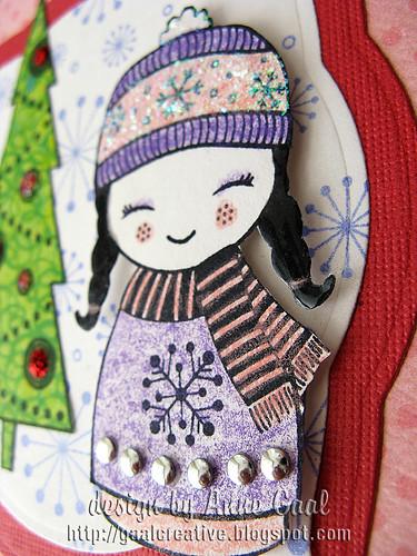 Close-up of Holiday Doll