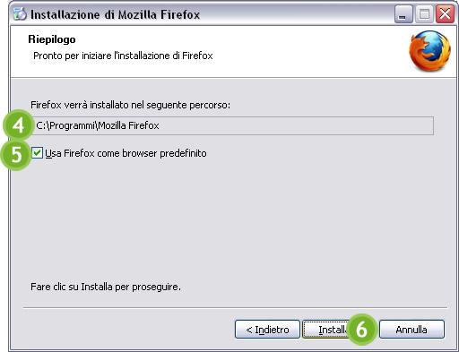 Scaricare e installare Mozilla Firefox