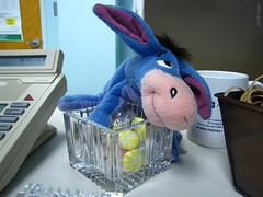 22:100 - 12/01/09 (Photography by Geni) Tags: canon 22 powershot eeyore candyjar 22100 sx10 22of100 canonsx10is canonpowershotsx10is 100possibilies