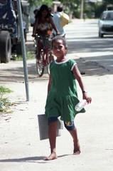 School girl (MJField) Tags: kiribati tarawa betio