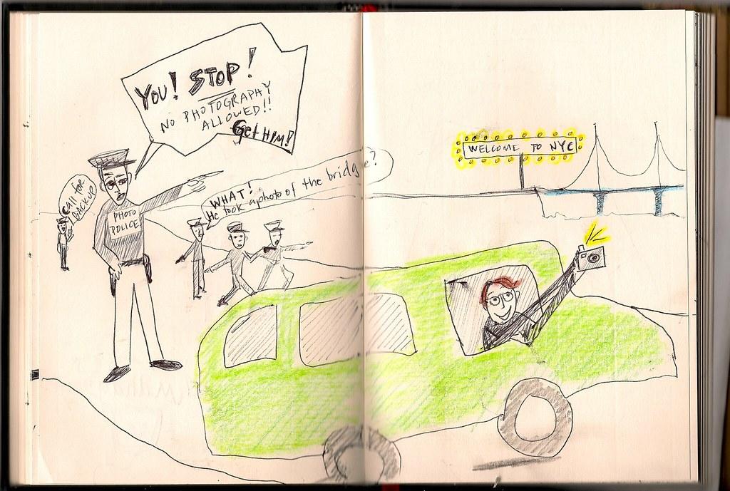 Tour Doodle 2009: Pages 9 & 10
