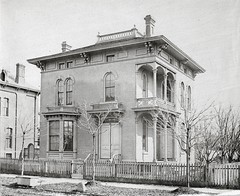 Judge Lyman Cochrane (southofbloor) Tags: park street house architecture detroit victorian brush villa mansion winder asymmetrical brushpark italianate