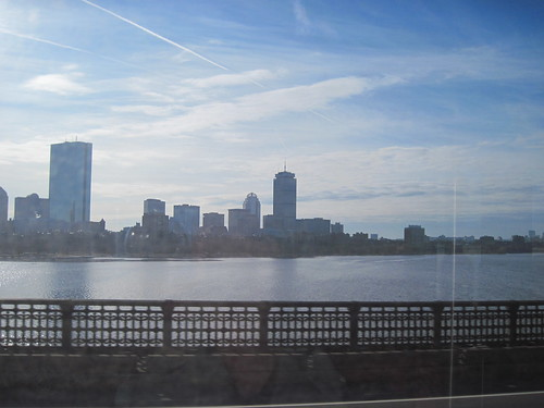 Classic View From The Red Line Across the Longfellow Bridge