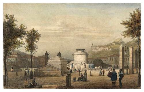 025- Fuente Do Campo desde la Iglesia de Sta Ana en Rio de Janeiro-Saudades do Rio de Janeiro- Wilhelm Karl Theremin 1835