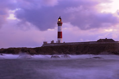 Buchan Ness lighthouse, Boddam (near Peterhead), Scotland (iancowe) Tags: winter lighthouse storm evening scotland january scottish stevenson buchan ness gloaming buchanness nlb boddam platinumphoto wbnawgbsct
