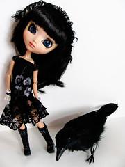 Custom Squall (ccharsita) Tags: pullip custom squall gothic raven dark
