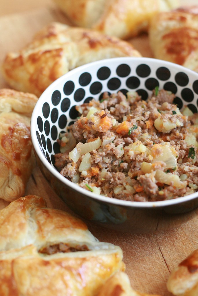 Boeuf haché, pdt, carottes & cumin