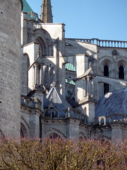 Chartres, Choir Buttressing