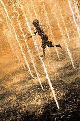 Spray Park in Evening Sun (photographyguy) Tags: summer playing water fountain louisiana child shreveport spraypark riverfrontplaza clydefantmemorialparkway