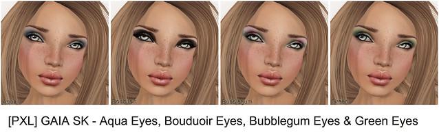 PXL GAIA SK - Aqua Bouduoir Bubblegum Green