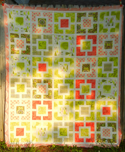 Prince Charming quilt top - finished!