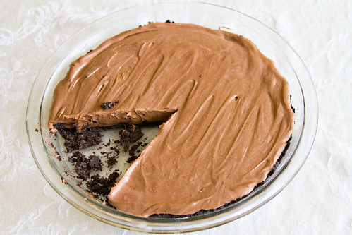 Nutella Cheesecake Pie - 5