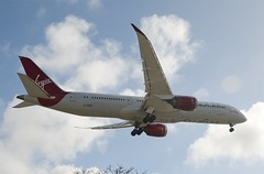 "Virgin Atlantic Airways 787-900 Dreamliner ""Dream Jeannie"" (G-VZIG) LAX Approach 4 (hsckcwong) Tags: virginatlanticairways virginatlantic 787900 7879 787 dreamliner gvzig lax dreamjeannie"