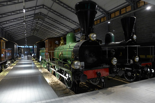 Hall in Finnish Railway Museum