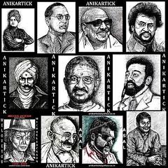 RAJNIKANTH.KAMALHASSAN,AJITHKUMAR,AMBEDKAR,KALAIGNAR,ILAIYARAJA,A.R.RAHMAN,GANDHIJI,AMBEDKAR,BHARATHI,SWAMY VIVEKANANDA's PORTRAITS (Artist Anikartick 'invites You..') Tags: vijay vikram ganesha ganesh hanuman spencer sonia krishna chennai rama tamilnadu kareena shahrukhkhan surya kamal sneha vijaykanth kushboo asin ajith dhoni balakrishna gandhiji saniamirza vinayak mohanlal simran rajni arrahman amirkhan shilpashetty chiranjeevi ilayaraja jyothika nagarjun kamalhassan srikrishna kathrina prabhas sridevi annanagar venkatesh maheshbabu sachintendulkar sevag harerama rajnikanth mammootty ramba jaihanuman yuvrajsingh vigneshwar amithabbachchan sreekrishna alluarjun kalaignar pillaiyaar harrisjeyaraj anikartick tamannah balaganesh prabudeva