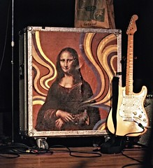 Jenny Lewis - stage gear (scottspy) Tags: actors jenny monalisa guitars lewis gigs singers rilokiley cases jennylewis concertphotos stageshots livemusicphotography acidtongue