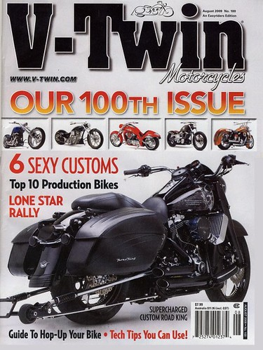 Brass Balls Bobbers Top 10 Production Bike for 2009