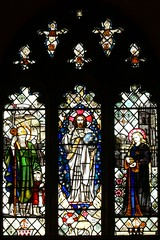 East window - St. Nicholas. Willoughby