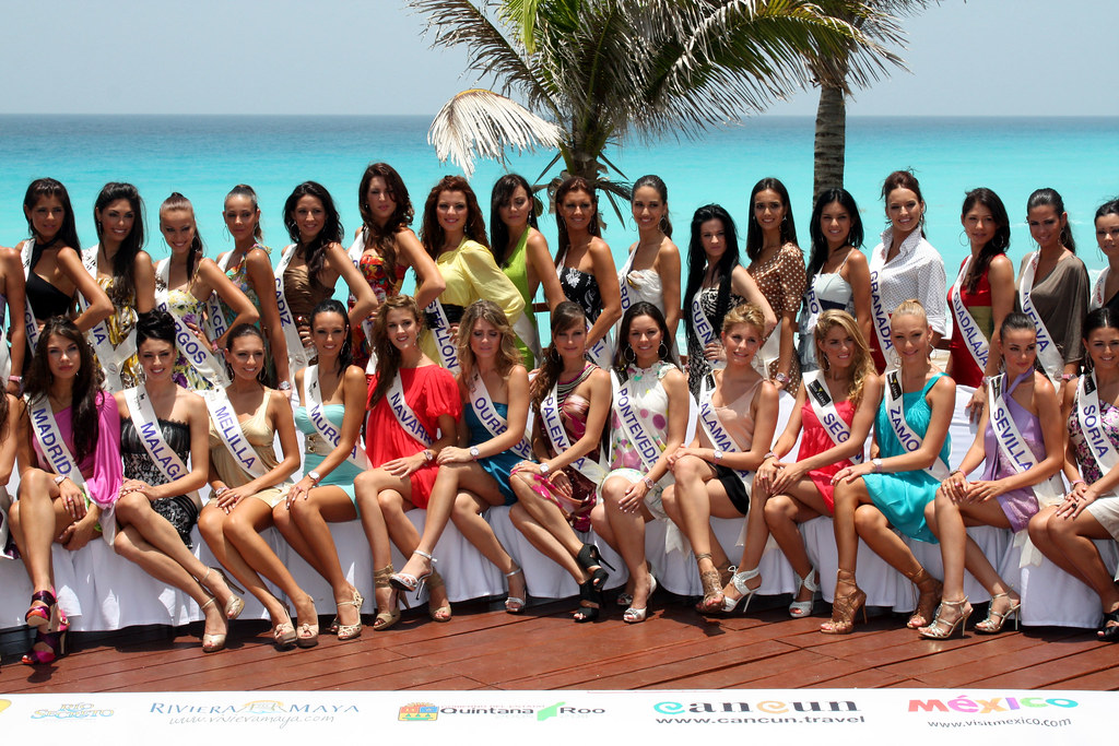 Miss Madrid España Cancún