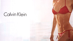 Calvin Klein (Tommy Nelson) Tags: red woman white newyork water lady canon poster model ad bikini advert manhatten calvinklein 40d