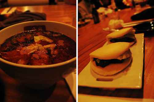 Ippudo ramen and buns