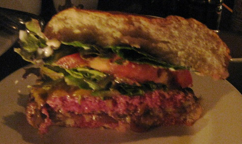 Slow Club in San Francisco - Burger (med rare)