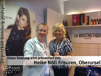 Sponsor Bad Homburger Infoshow - Heike Nöll Frisuren