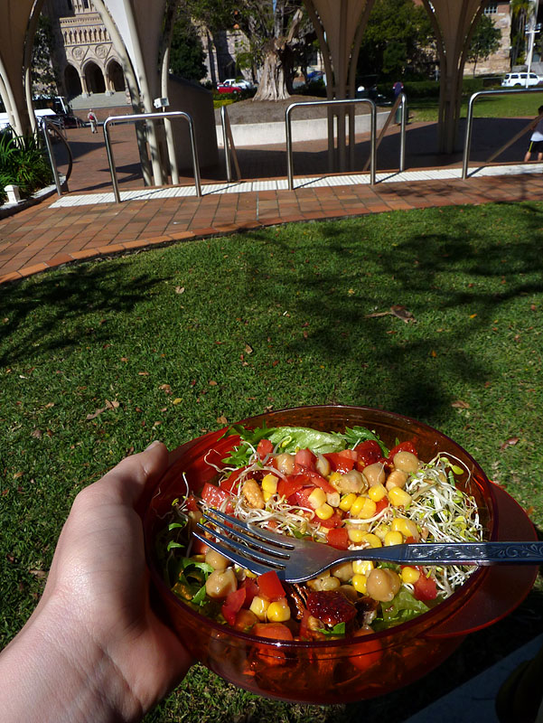 Lunch, outside, sun! 3/365